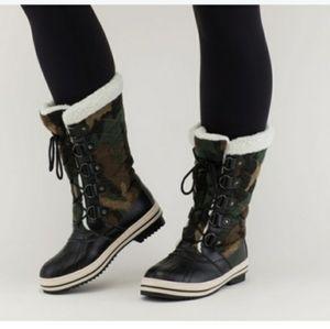 Sociology camo boots